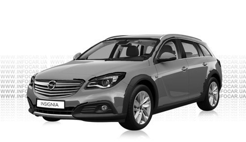 Цвета Insignia Country Tourer